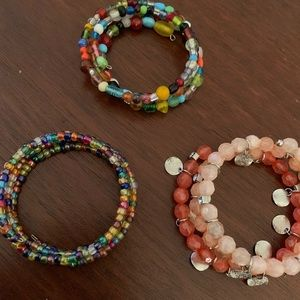 Jewelry - Set of 3 bracelets